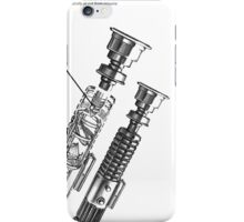 Star Wars Lightsaber Schematics iPhone Case/Skin