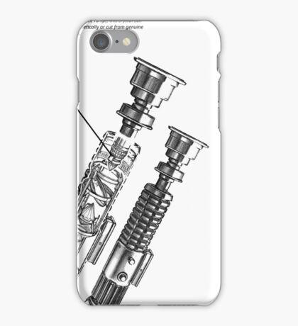 Star Wars Lightsaber Schematics iPhone Case/Skin