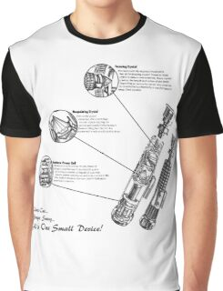 Star Wars Lightsaber Schematics Graphic T-Shirt