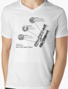 Star Wars Lightsaber Schematics Mens V-Neck T-Shirt