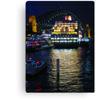 Sydney Harbour Pearl Canvas Print