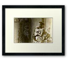 Ghana Momma Framed Print