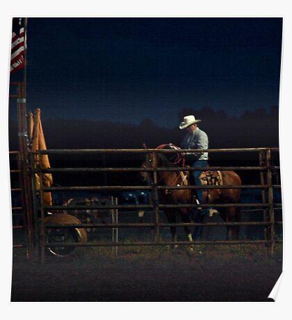 Cowboy Nights Poster