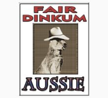 FAIR DINKUM One Piece - Short Sleeve