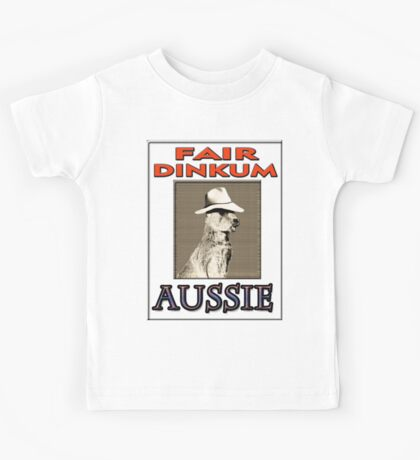 FAIR DINKUM Kids Tee