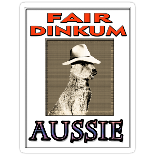 FAIR DINKUM by Jon de Graaff