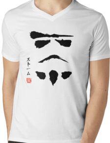 Star Wars Droid Minimalistic Painting Mens V-Neck T-Shirt