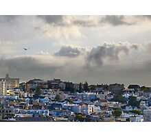 Pacific Heights before the rain Photographic Print