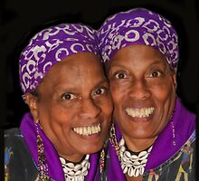 Twin Sisters by heatherfriedman