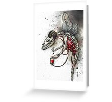 Bloodgoat Greeting Card