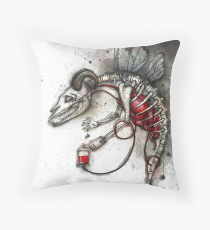 Bloodgoat Throw Pillow