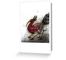 Stitchbird Greeting Card