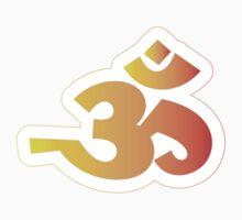 Om / Aum - Sanskrit Hindu Symbol - Y2R Kids Tee