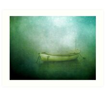 Sound of the sea in lonely bays Art Print