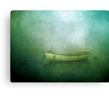 Sound of the sea in lonely bays Canvas Print