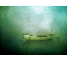 Sound of the sea in lonely bays Photographic Print