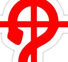 Fullmetal Alchemist Logo Red Sticker