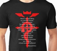 Fullmetal Heart Red Unisex T-Shirt