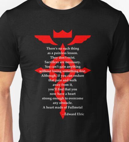 Fullmetal Heart Red Unisex T-Shirt