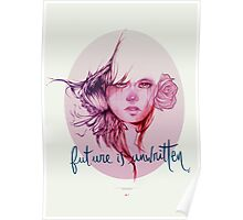 Future is unwritten  Poster