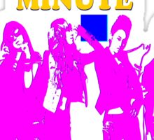 ㋡♥♫SaRangHaeYo(Love) Hot Fabulous K-Pop Girl Group-4Minute Clothing & Stickers♪♥㋡ Sticker