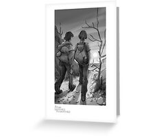 """""""Goodbye"""" - From Darkness to Darkness Greeting Card"""