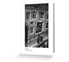 """Ghost House Gallery"" - From Darkness to Darkness Greeting Card"