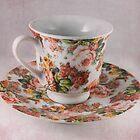 Vintage Tea Set by Mandy  Harvey