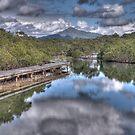 Urunga Lagoon, North Coast NSW by Adrian Paul