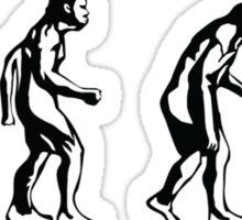 Pay Peanuts Get Monkeys Sticker