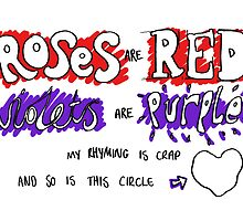 Roses Are Red by Anidoodle