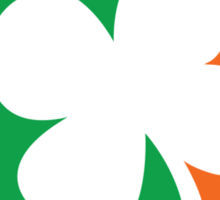 Pro Irish St Patricks Day Sticker