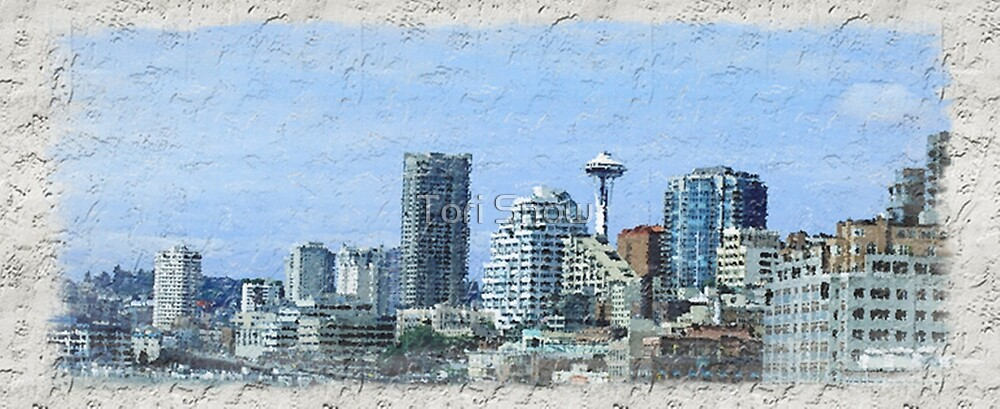 Seattle on the Wall by Tori Snow