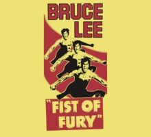 Fist of fury Bruce lee by BungleThreads