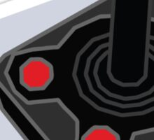 Retro Joystick Sticker