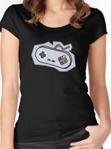 Retro Controller Women's Fitted Scoop T-Shirt
