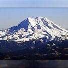 Framed Mt. Rainier Panorama by Tori Snow