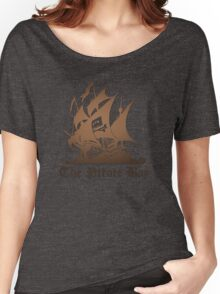 THE PIRATE BAY LOGO Women's Relaxed Fit T-Shirt