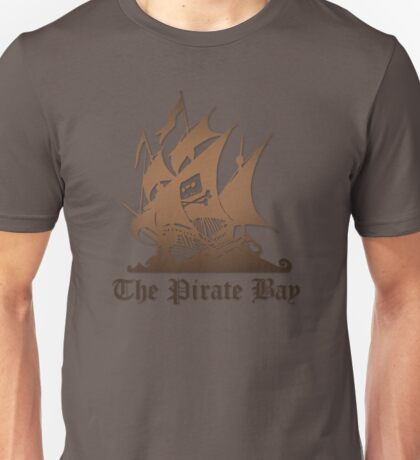THE PIRATE BAY LOGO Unisex T-Shirt