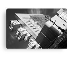 Manchester's civil justice law courts. (B&W) Canvas Print