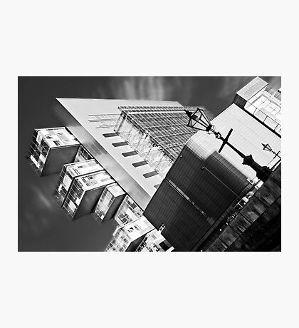 Manchester's civil justice law courts. (B&W) Photographic Print
