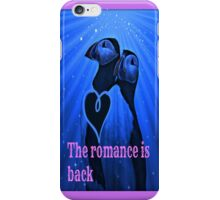 the romance is back iPhone Case/Skin