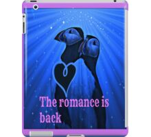 the romance is back iPad Case/Skin