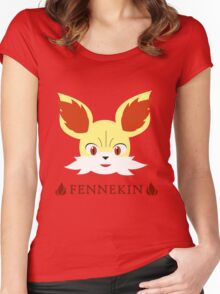 Fennekin - Pokemon X & Y Women's Fitted Scoop T-Shirt