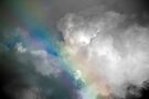 Rainbow in the Clouds by Debbie Pinard