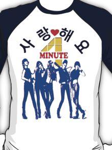 ㋡♥♫SaRangHaeYo(Love) Hot Fabulous K-Pop Girl Group-4Minute Clothing & Stickers♪♥㋡ T-Shirt