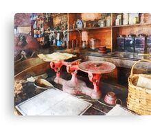 Balance Scale in General Store Canvas Print