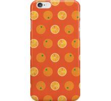 Cute Oranges Picture Pattern iPhone Case/Skin