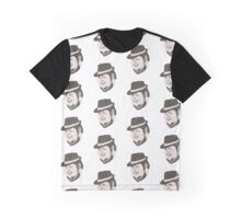 Fedora art Graphic T-Shirt