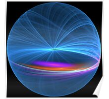 Orbital Neon Poster